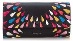 Desigual dámská černá peněženka Tears Splatter Reversible