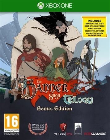 505 Gamestreet Banner Saga Trilogy (Xbox One)