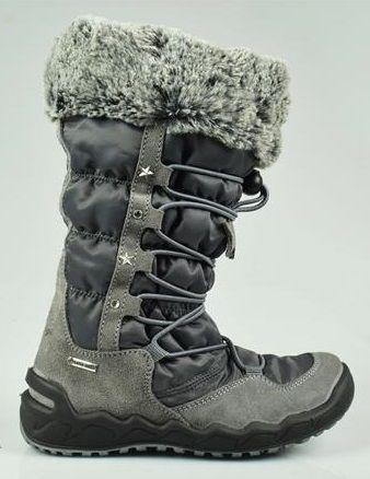 Primigi dekliški škornji, 27, sivi