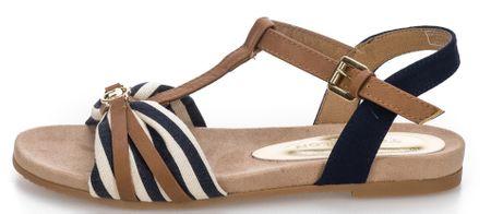 Tom Tailor sandały damskie 36 ciemny niebieski