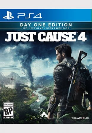 Square Enix igra Just Cause 4 Day One Edition (PS4) – datum izida 4.12.2018
