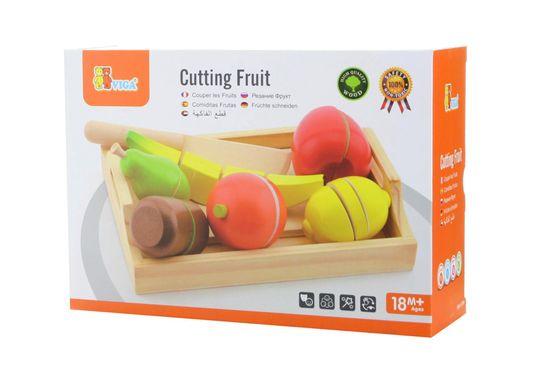 Viga Krájanie ovocia s táckou