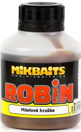 Mikbaits booster robin fish 250 ml tuňák&ančovička