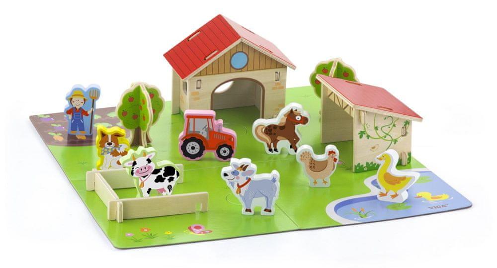 Viga Dřevěná farma