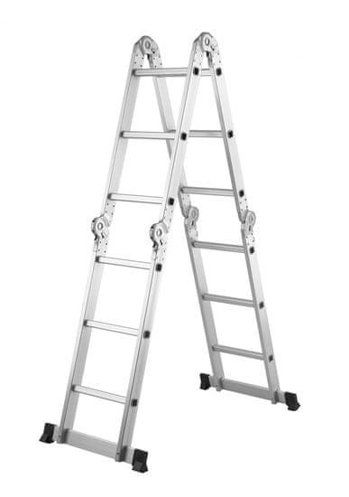 MAKERS Kloubový žebřík MML4301 4 X 3