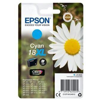Epson črnilo 18XL, cyan