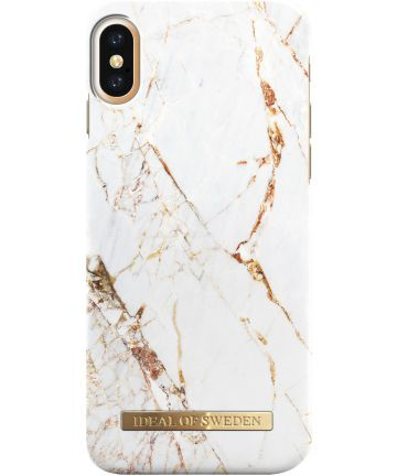 iDeal of Sweden ovitek iPhone X Carrara Gold