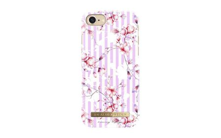 Ideal ovitek iPhone 8/7/6 Magnolia Stripes, roza