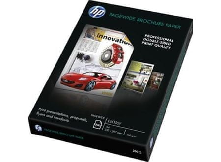 HP papir Brochure Pagewide Glossy A4, 200 listov