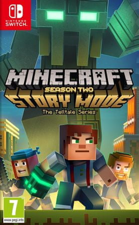 Telltale Games igra Minecraft Story Mode Season 2 (Switch)