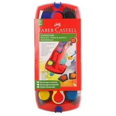 Faber-Castell vodene barvice + čopič Connect 12/1