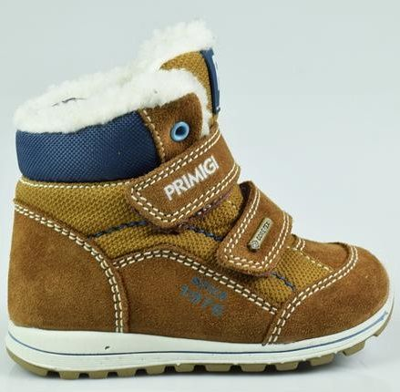 60d26b1f3a9 Primigi chlapecká zimní obuv 28 hnědá