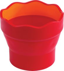 Faber-Castell lonček Click&Go, rdeč