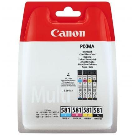 Canon komplet kartuš CLI-581, barvni