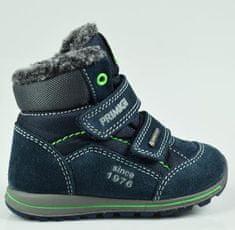 cda9d4c502f Luxusní chlapecká obuv modrá