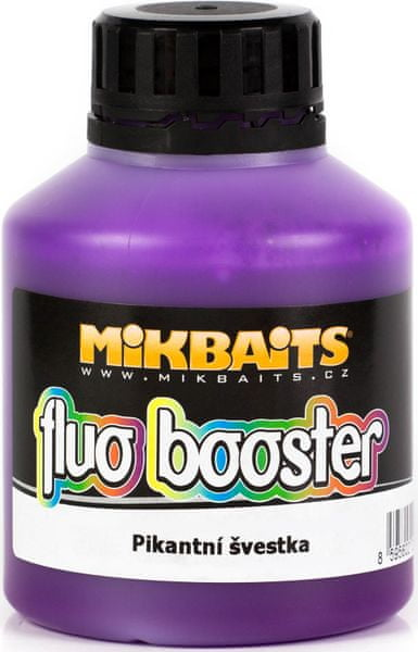 Mikbaits Fluo Booster 250ml jahoda exclusive
