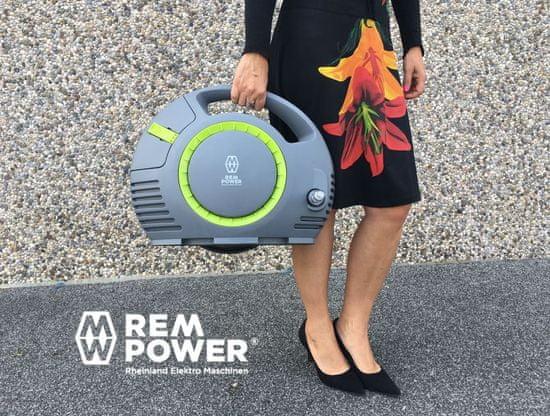 REM POWER akumulatorski visokotlačni čistilnik HDEm 360 Li-Power