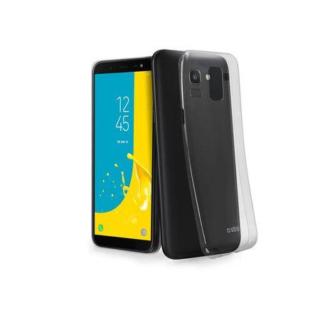 SBS silikonski ovitek za Samsung Galaxy J6 2018, prozoren