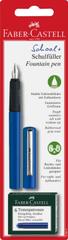 Faber-Castell nalivno pero + bombice, modro
