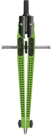 Faber-Castell šestar Grip, zeleni