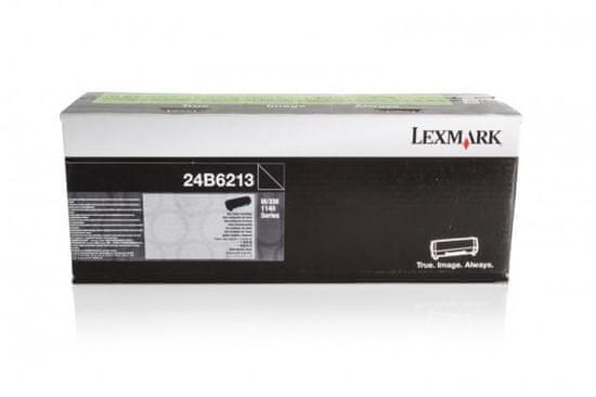 Lexmark toner 24B6213, črn
