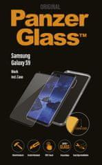 PanzerGlass steklo CF in ovitek za Galaxy S9, črno