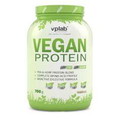 VPLAB beljakovinski izolat iz graha in konoplje Vegan Protein, vanilija, 700 g