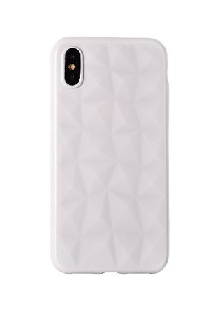Silikonski ovitek Diamond za iPhone 7/8, bel