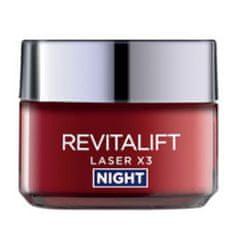 L'Oréal Omlazující noční krém Revitalift Laser X3 Night 50 ml