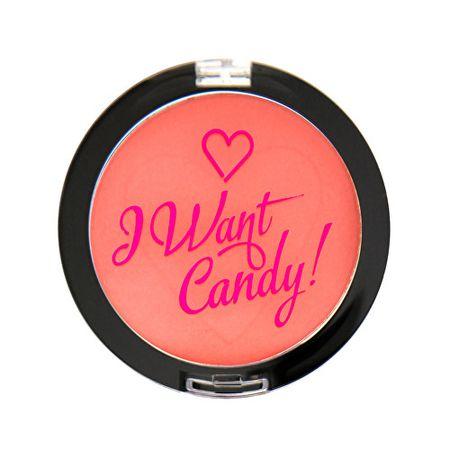 Makeup Revolution Tvářenka I Heart Makeup (Blush I Want Candy) 3 g (Odstín Políbená)