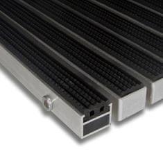 FLOMAT Gumová hliníková venkovní vstupní rohož Alu Standard, FLOMAT - 2,7 cm