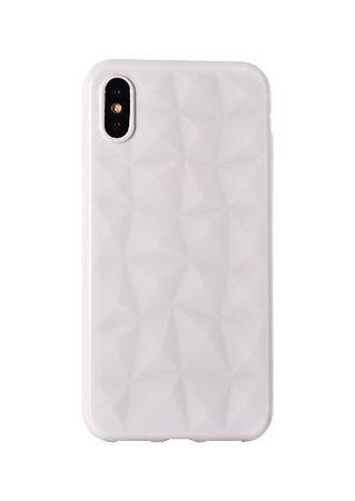 Silikonska maska Diamond za Galaxy J3 2017, bijela