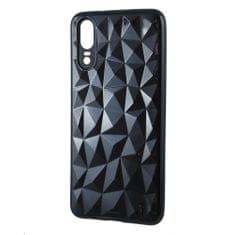 Silikonski ovitek Diamond za Galaxy S8 G950, črn