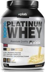 VPLAB beljakovinski izolat in koncentrat iz sirotke 100% Platinum Whey, vanilija, 908 g