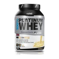 VPLAB beljakovinski izolat in koncentrat iz sirotke 100% Platinum Whey, vanilija, 2300 g