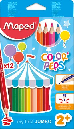 Maped barvice Color'Peps Maxi 3 robne 12/1