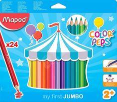 Maped barvice Color'Peps Maxi 3 robne 24/1