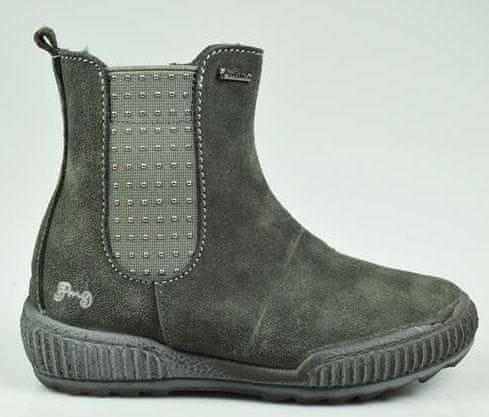 Primigi dívčí kotníčková obuv 31 šedá