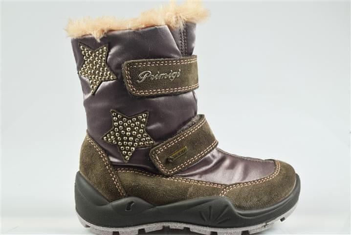 Primigi dívčí zimní obuv 31 šedá