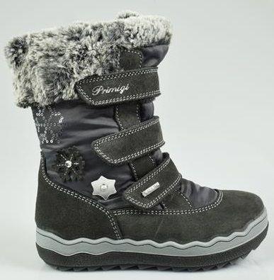 Primigi buty zimowe dziewczęce 28 szare