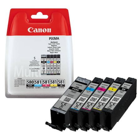 Canon komplet kartuš PGI580/CLI-581, barvni