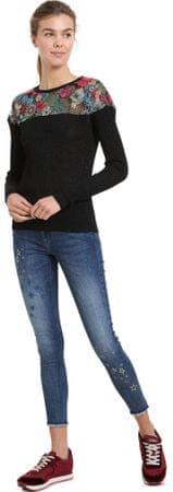 Desigual ženski pulover Tulipan, XS, črn
