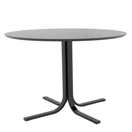 Danish Style Jídelní stůl Jamie, 110 cm, černá