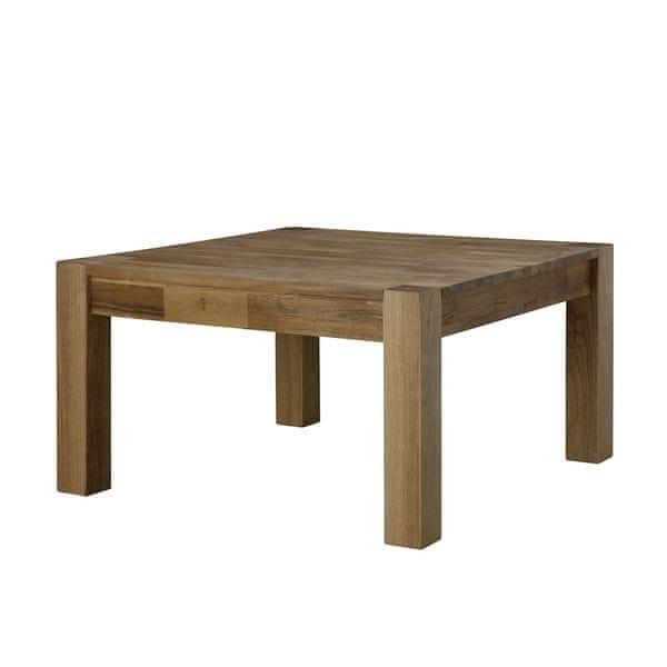 Danish Style Konferenční stolek z masivu Boost, 80 cm, dub