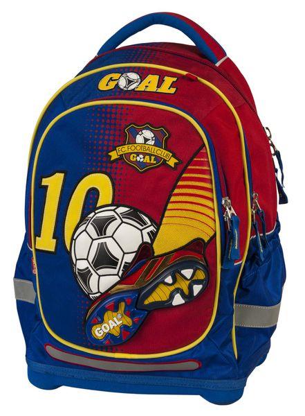 Target Školní batoh Goal červeno modrý