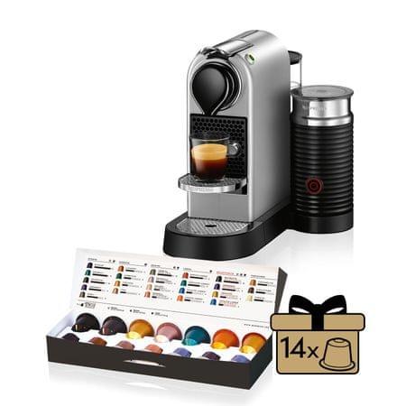 NESPRESSO XN760B10 Nespresso Citiz & Milk Titan Kávéfőző