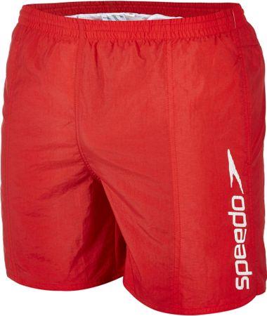 Speedo kopalke Scope 16 Watershort Red/White, rdečo/bele, L
