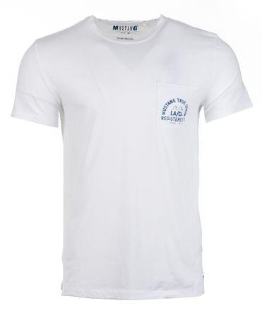 Mustang T-shirt męski Surf L biały