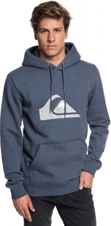 Quiksilver Big Logo Hood M Otlr Byjh Navy Blazer Heather M