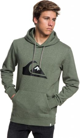 Quiksilver Big Logo Hood M Otlr Byjh Navy Blazer Heather L